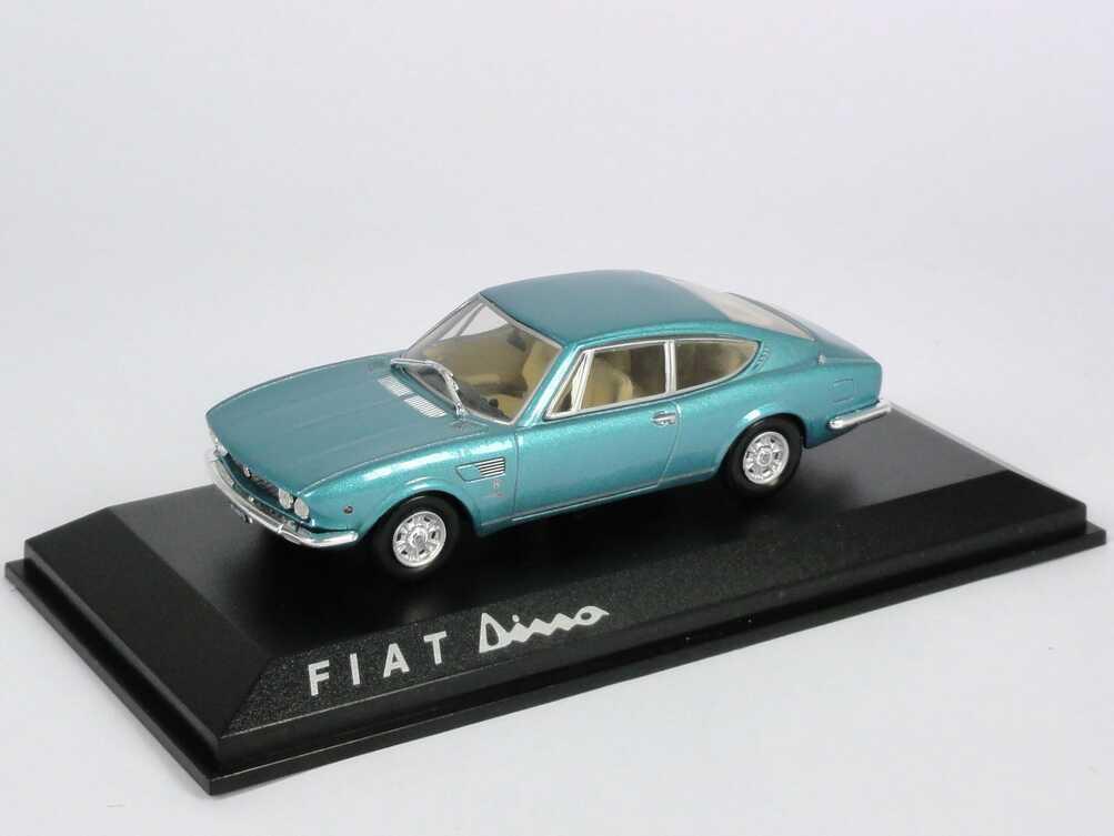 Foto 1:43 Fiat Dino Coupé blau-met. Norev 770102