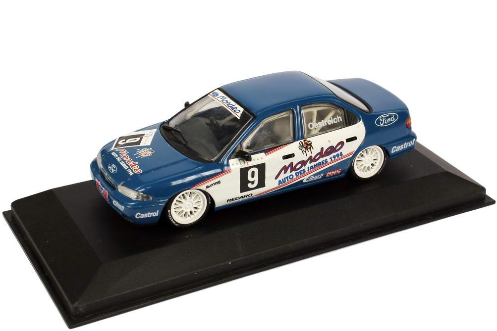 Foto 1:43 Ford Mondeo Stufenheck ADAC TW-Cup 1994 Eggenberger Motorsport Nr.9, Oestreich Minichamps 430948009