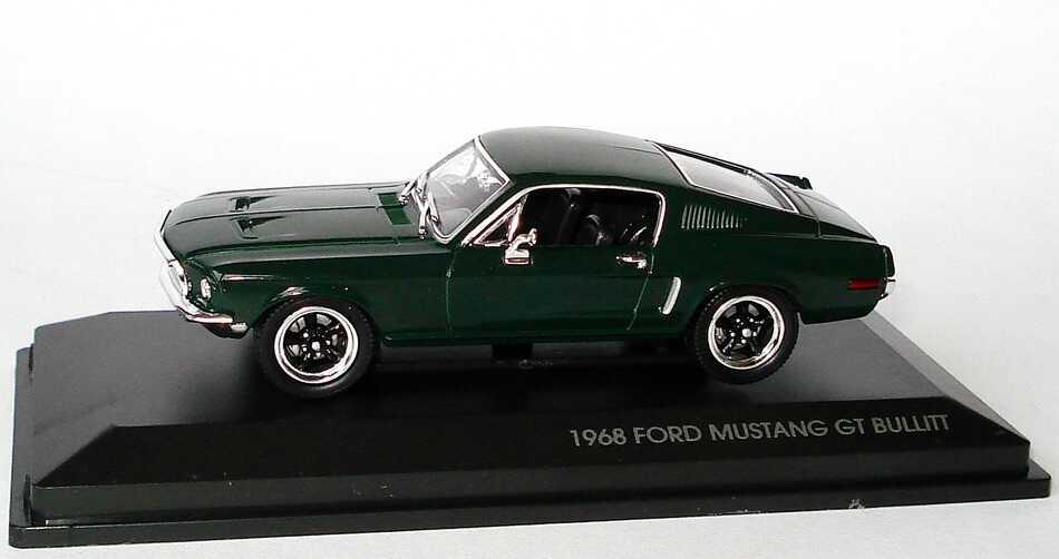 Foto 1:43 Ford Mustang GT 1968 dunkelgrün Steve McQueen, Bullit Yat Ming 43207