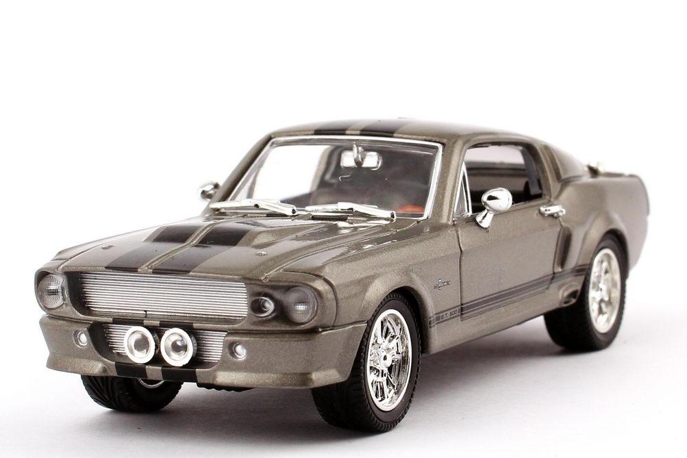 ford mustang gt 500 eleanor 1967 grau schwarze racing. Black Bedroom Furniture Sets. Home Design Ideas