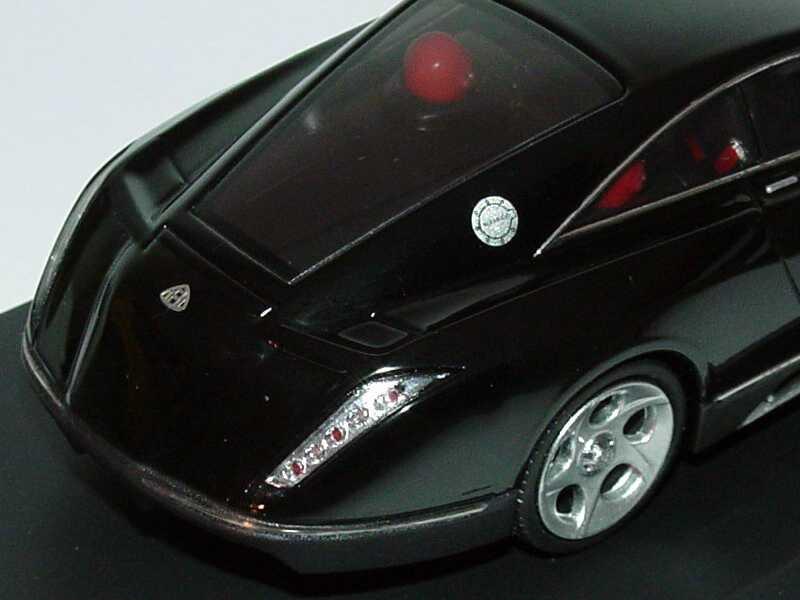 Foto 1:43 Fulda/Maybach Concept Car Exelero 2005 schwarz Werbemodell Schuco B66962234
