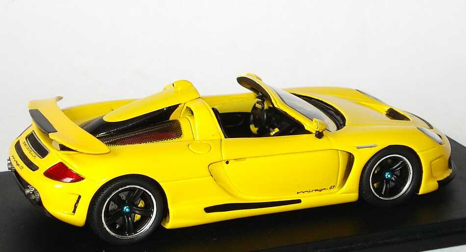 Foto 1:43 Gemballa Mirage GT (Basis Porsche Carrera GT) gelb Spark S0720