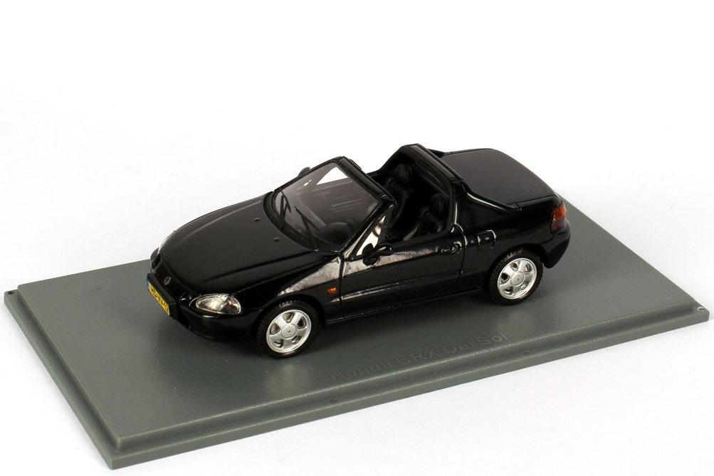 Foto 1:43 Honda CRX del Sol schwarz NEO Scale Models 44512