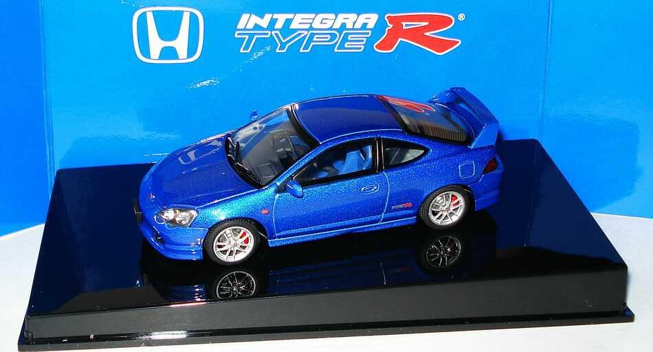 Foto 1:43 Honda Integra Type-R electric-blue-met. AUTOart 53243