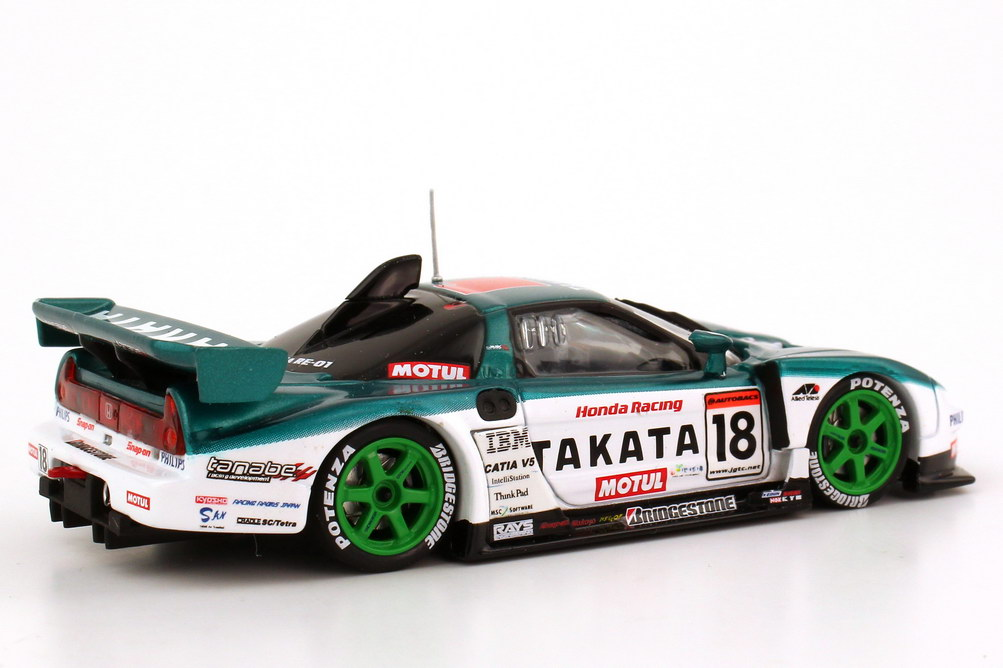 Foto 1:43 Honda NSX JGTC 2004 GT500 Takata Dome Nr.18, Ryo Michigami / Sébastien Philippe Ebbro 43576