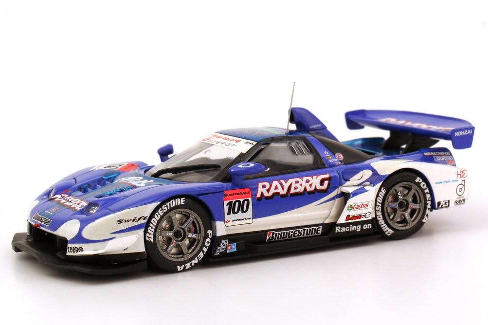 Foto 1:43 Honda NSX Super GT 2005 GT500 Raybrig Nr.100, Sebastien Philippe / Jeremie Dufour Ebbro 43691