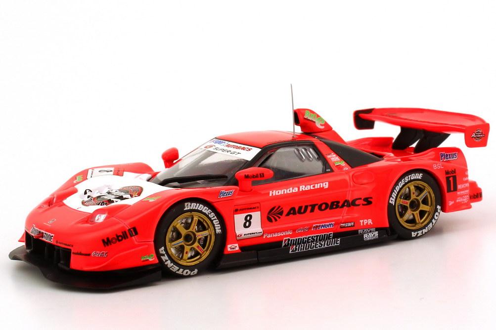 Foto 1:43 Honda NSX Super GT 2006 GT500 Autobacs Nr.8, Daisuke Ito / Ralph Firman Ebbro 43800