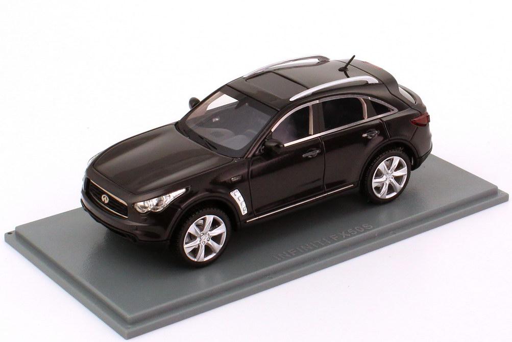 Foto 1:43 Infiniti FX50S grau-schwarz-met. NEO Scale Models 44540