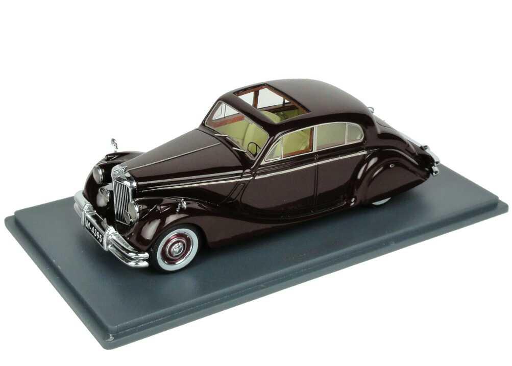 Foto 1:43 Jaguar MK 5 dunkelbraun NEO Scale Models 43951