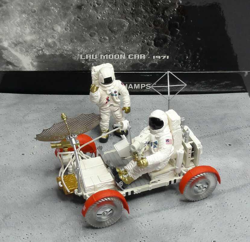 Foto 1:43 LRV Moon Car Apollo 15 1971 Mondauto Minichamps 436140360