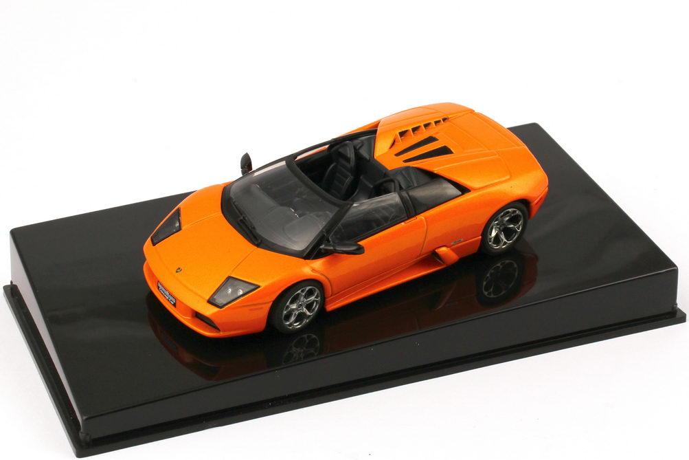 Foto 1:43 Lamborghini Murcielago Barchetta Concept (Genfer Autosalon 2002) borealis-orange-met. AUTOart 54553