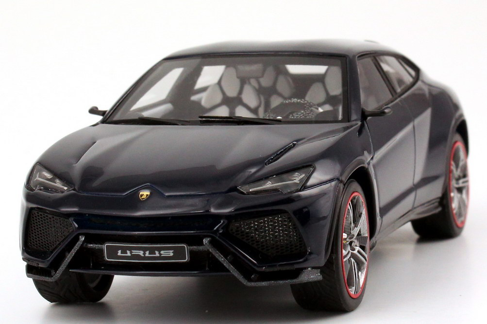 1 43 lamborghini urus blue hera dunkel blau 1 of 99 looksmart ls399h 2012 ebay. Black Bedroom Furniture Sets. Home Design Ideas