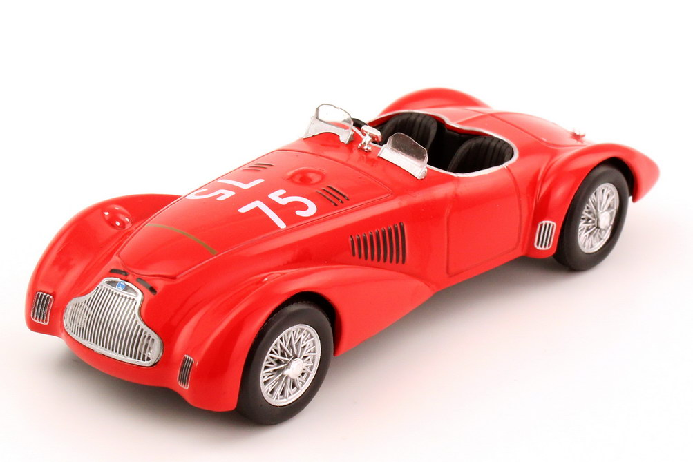 Foto 1:43 Lancia Astura MM Sport Roadster rot Mille-Miglia 1940 Nr.75 Metro Hachette-Collection