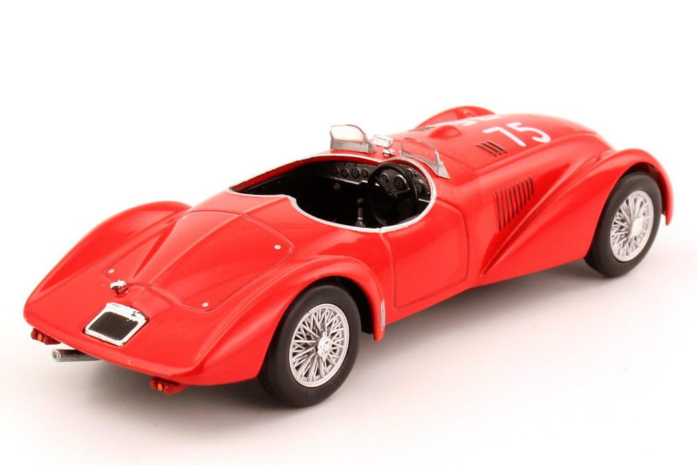 Foto 1:43 Lancia Astura MM Sport Roadster rot Mille-Miglia 1940 Nr.75 Metro Hachette-Collection