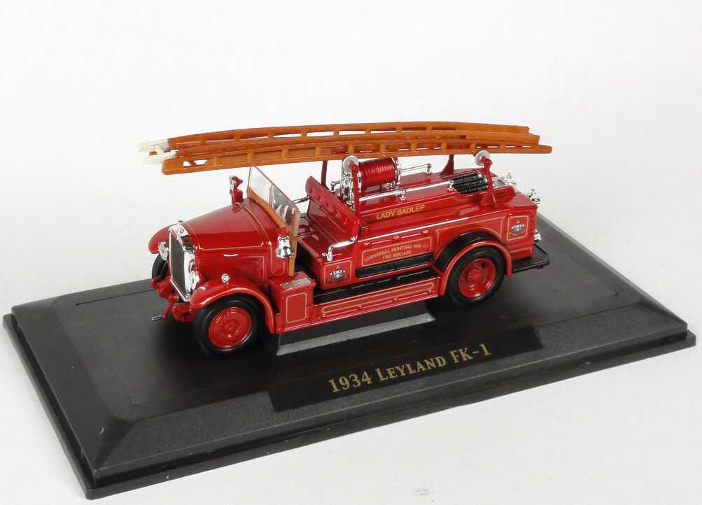 Foto 1:43 Leyland FK-1 (1934)  Lady Sadlep - Universal Printing Ink Fire Brigade Yat Ming 43009
