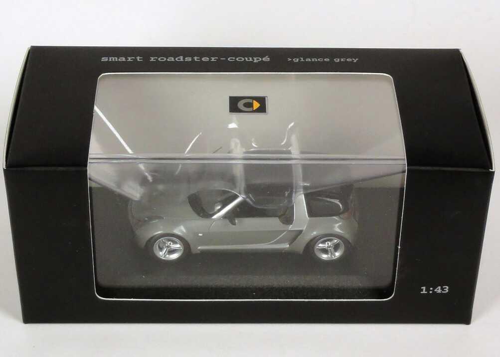 Foto 1:43 MCC Smart Roadster Coupé glance-grey-met. Werbemodell Minichamps C0014181V001C30Q00