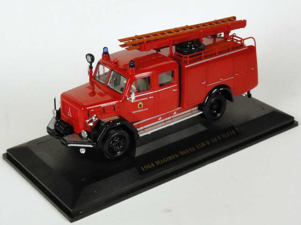 Foto 1:43 Magirus-Deutz 150 D 10 F TLF16 (1964) Freiwillige Feuerwehr Stadt Neumarkt Yat Ming 43015