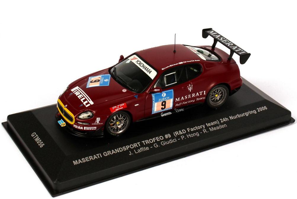 Foto 1:43 Maserati Coupé Grandsport Trofeo 24h Nürburgring 2006 R&D Factory Team Nr.9, Laffite / Giudici / Hong / Maeden Ixo GTM056