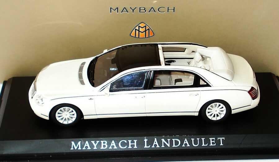 Foto 1:43 Maybach Landaulet Studie antiguaweiß-met. Werbemodell Minimax B66961997