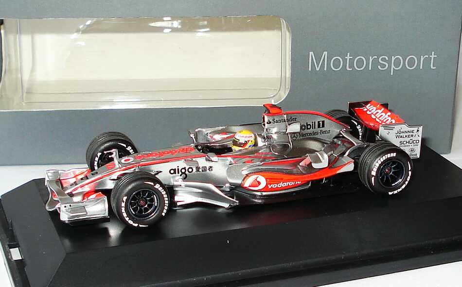 mclaren mercedes mp 4 23 formel 1 2008 showcar lewis. Black Bedroom Furniture Sets. Home Design Ideas