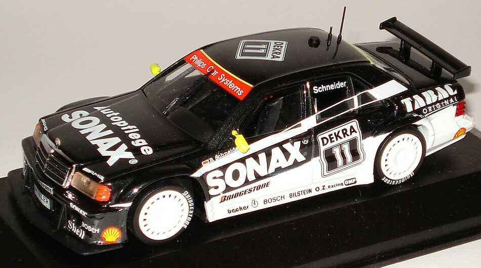 Foto 1:43 Mercedes-Benz 190E 2.5-16 Evolution II DTM 1993 AMG-Sonax Nr.T11, Bernd Schneider Minichamps