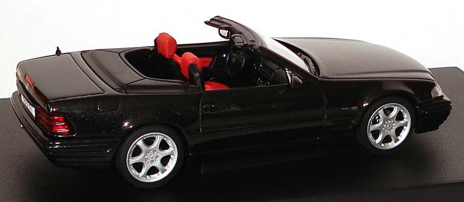 mercedes benz sl  modell  schwarz met final