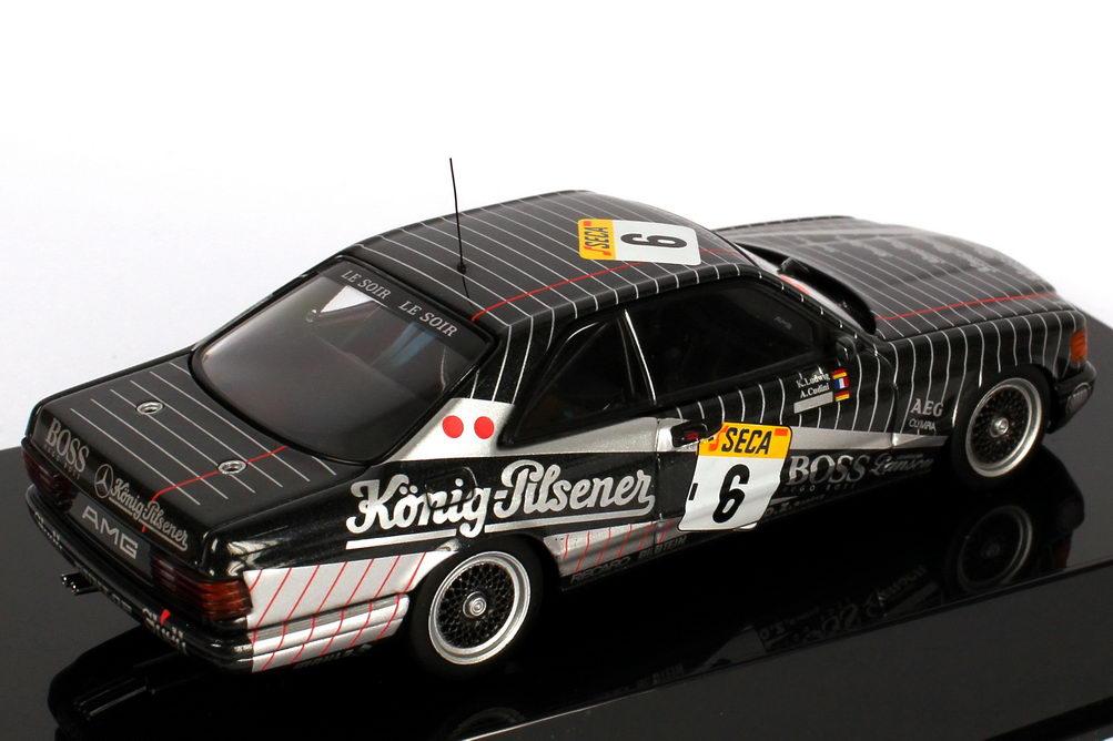 Foto 1:43 Mercedes-Benz 500 SEC (C126) 24h Spa-Francorchamps 1989 König-Pilsener Nr.6 Ludwig / Cudini / Müller Werbemodell AUTOart B66050350