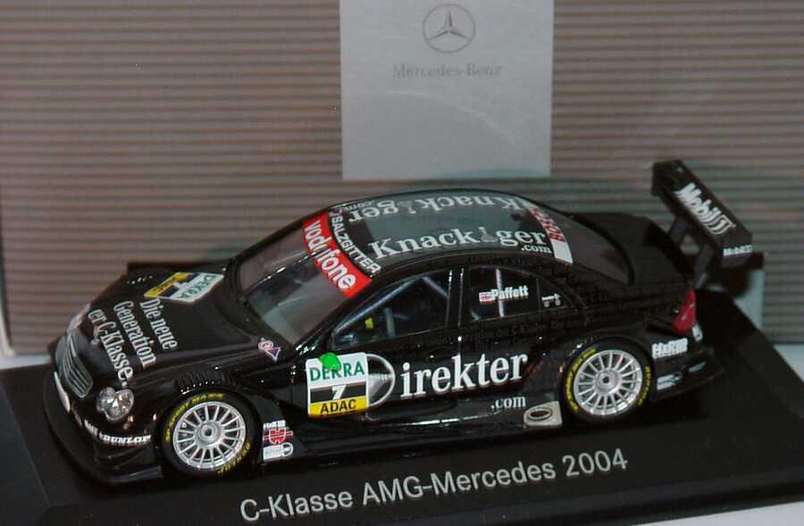 Foto 1:43 Mercedes-Benz C-Klasse DTM 2004 Die neue Generation der C-Klasse Nr.7, Gary Paffett Werbemodell Minichamps B66962210