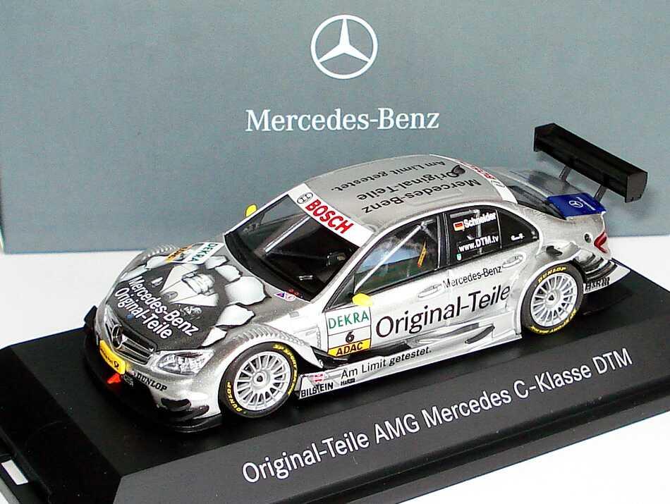 Foto 1:43 Mercedes-Benz C-Klasse (W204) DTM 2008 Original Teile Nr.6, Bernd Schneider Werbemodell Minichamps B66962290