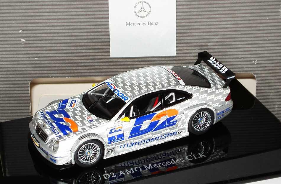 Foto 1:43 Mercedes-Benz CLK DTM 2000 AMG, D2 Nr.1, Bernd Schneider Werbemodell AUTOart B66961907