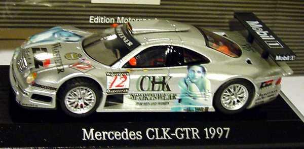 Foto 1:43 Mercedes-Benz CLK GTR 1997 CLK Sportswear Nr.12, Ludwig, Mayländer Maisto B66005047