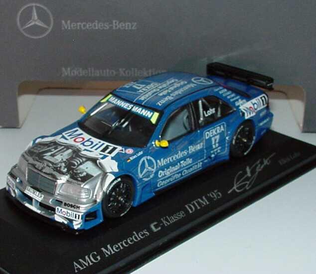 Foto 1:43 Mercedes-Benz C 180 DTM 1995 Original Teile Nr.17, Lohr Werbemodell Minichamps B66005019