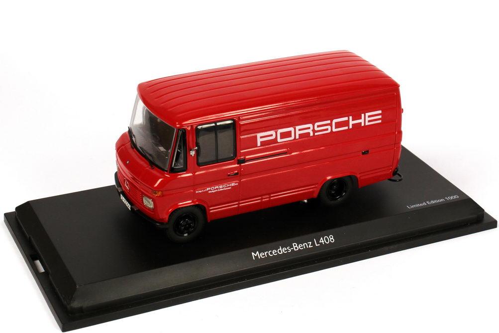 Foto 1:43 Mercedes-Benz L408 Kasten Porsche Schuco 450357000