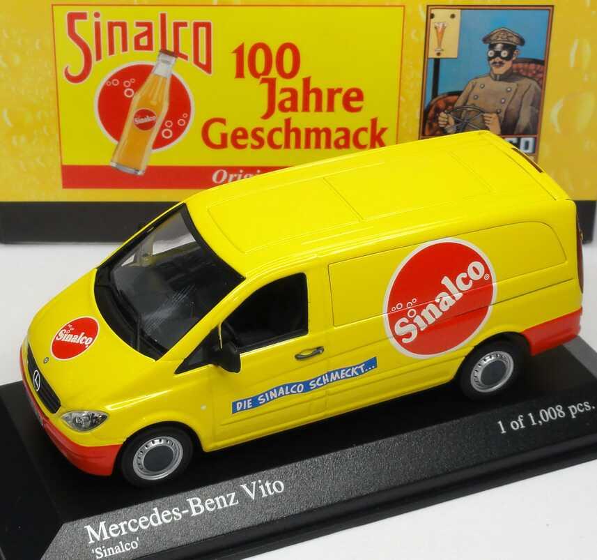 Foto 1:43 Mercedes-Benz Vito II Kasten Sinalco - Die Sinalco schmeckt... Minichamps 400032261