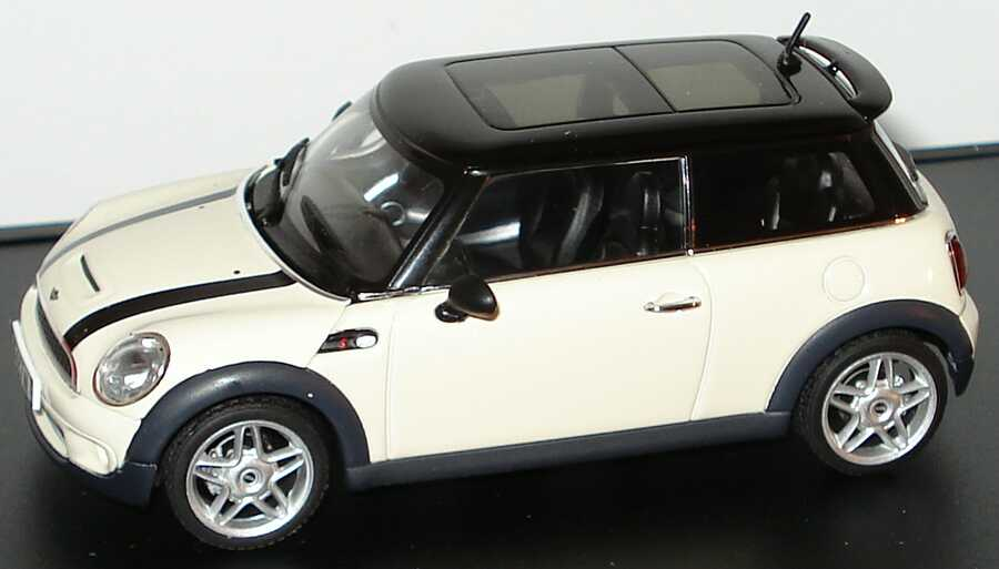 mini cooper s 2006 pepperwhite dach schwarz werbemodell. Black Bedroom Furniture Sets. Home Design Ideas