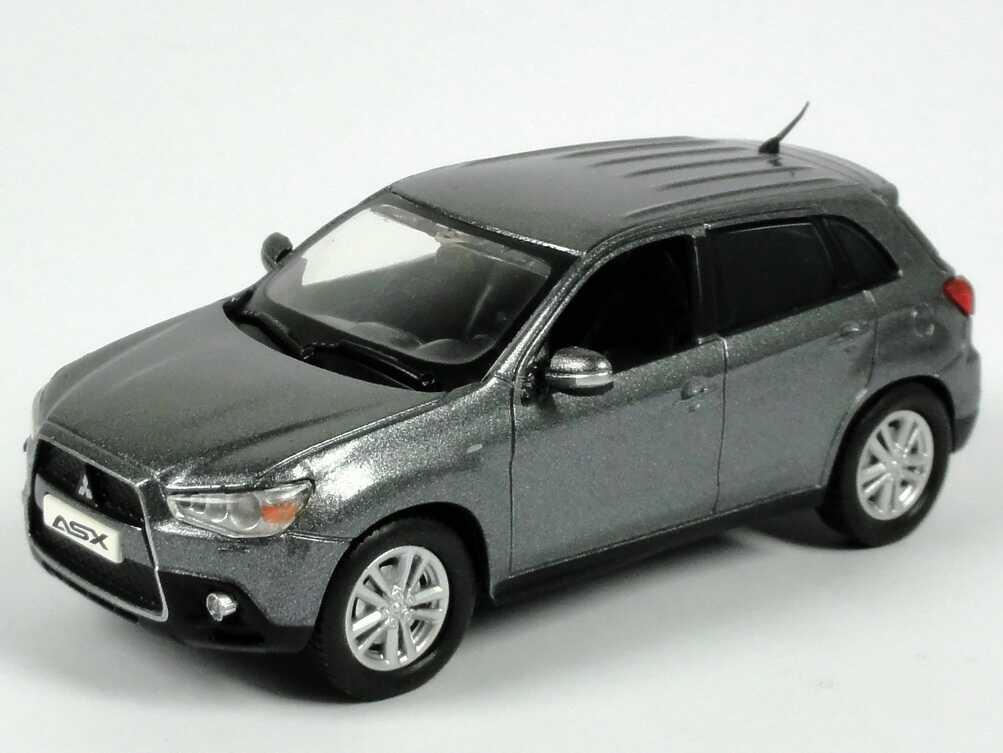 Foto 1:43 Mitsubishi ASX grau-met. Werbemodell Vitesse MME50220