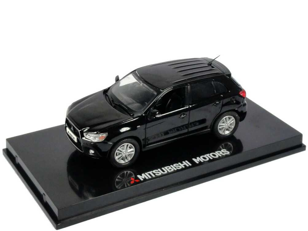 Foto 1:43 Mitsubishi ASX schwarz Werbemodell Vitesse MME50219