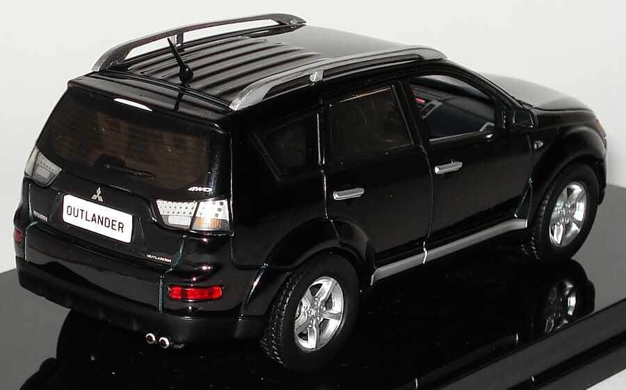 Foto 1:43 Mitsubishi Outlander II panther-schwarz Werbemodell Vitesse MME50143