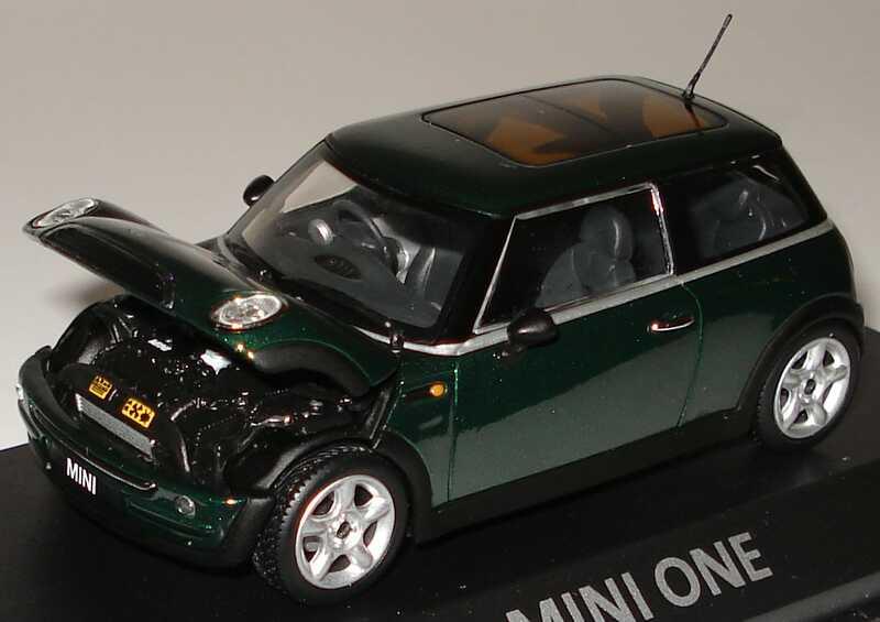 Foto 1:43 New Mini One racinggreen-met. Minichamps