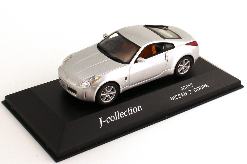 Foto 1:43 Nissan Fairlady Z / 350Z (Z33) Coupé silber-met. J-Collection JC013