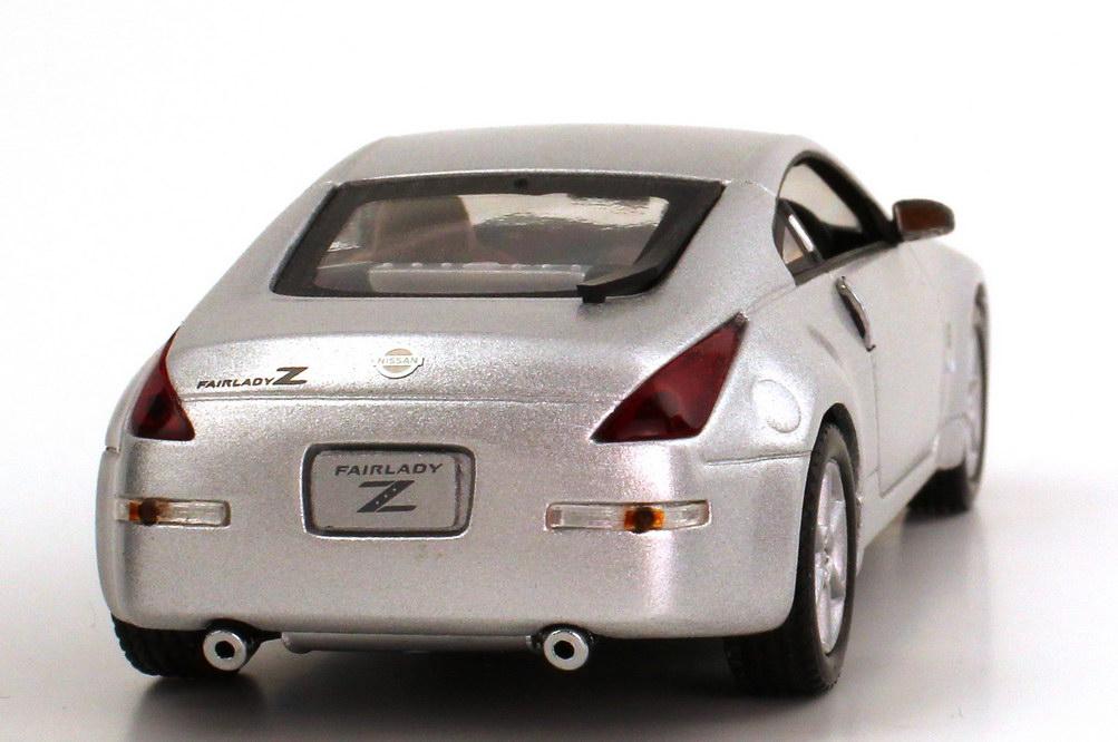 Foto 1:43 Nissan Fairlady Z / 350Z (Z33) Coupé silber-met. J-Collection JC013