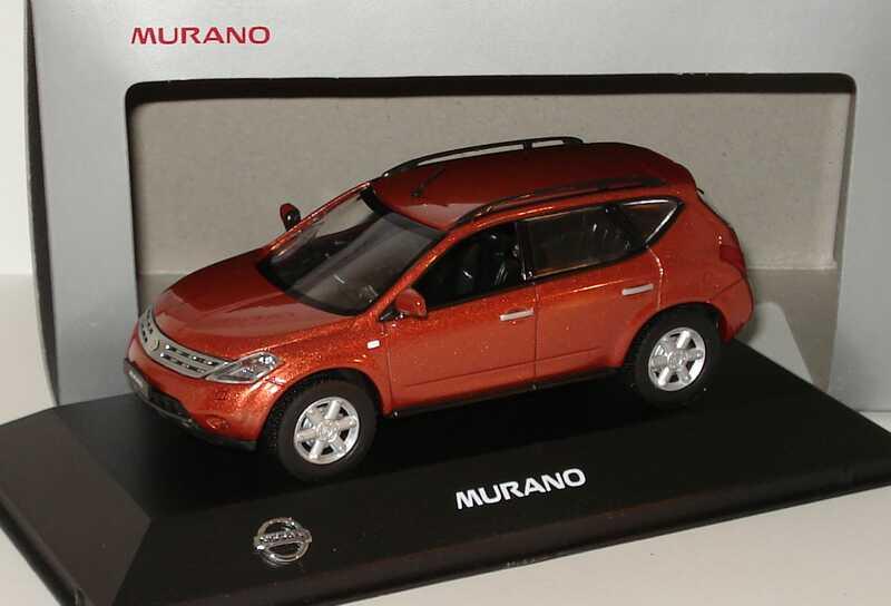 Foto 1:43 Nissan Murano kupferrot-met. Werbemodell J-Collection