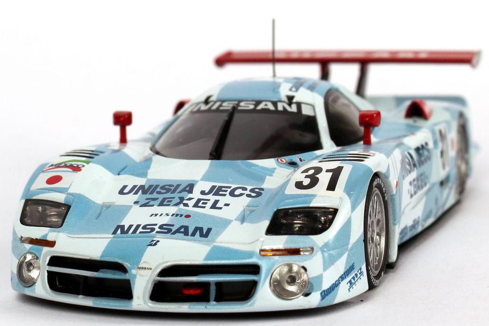 Foto 1:43 Nissan R390 GT1 24h von Le Mans 1998 Unisia JECS Nr.31, E. Comas / J. Lammers / A. Montermini Kyosho 03421B