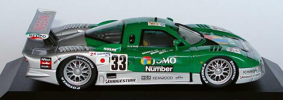 Foto 1:43 Nissan R390 GT1 Le Mans 1998 Jumo, Number Nr.33, S. Motoyama / M. Kageyama / T. Kurosawa Vitesse OnyxXLM99004