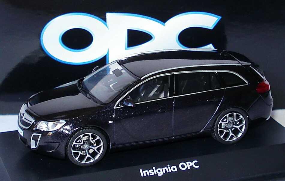 Opc Sports Insignia Tourer nero Opel Modello pubblicitario Schuco 1026110 Ybgf67yvI