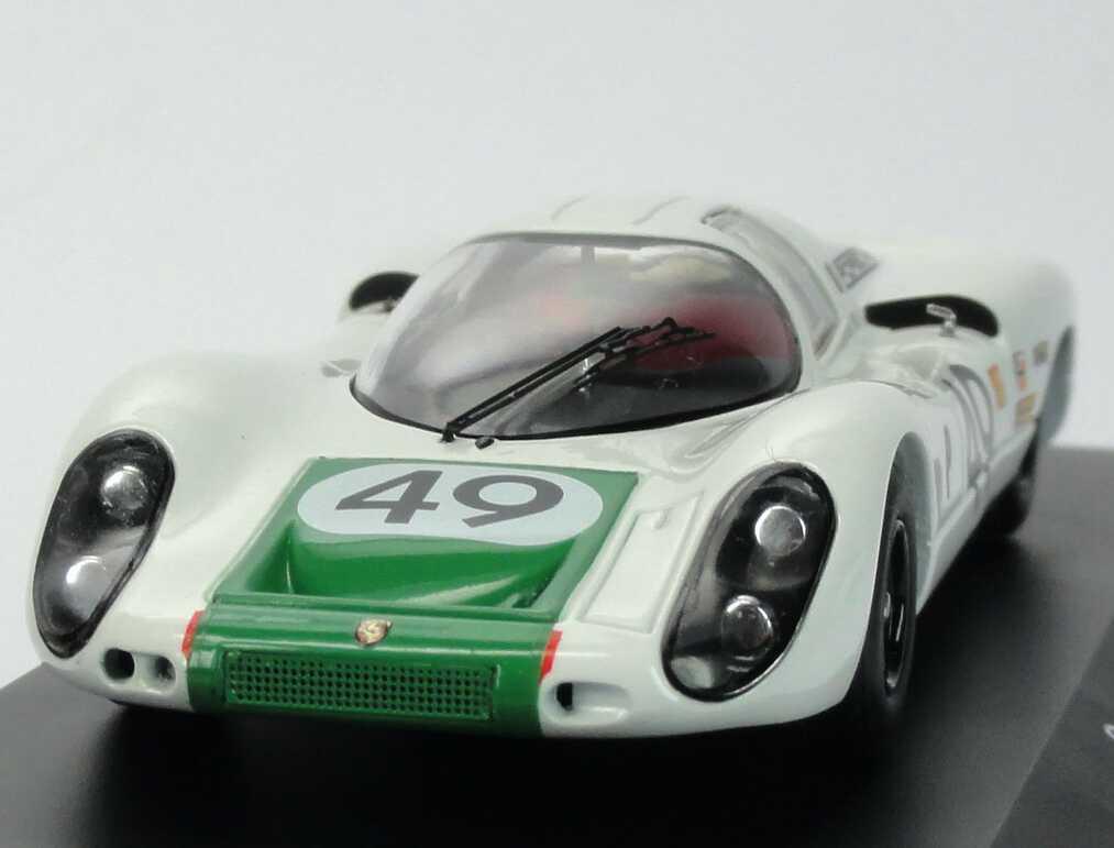 Foto 1:43 Porsche 907 Kurzheck weiß/grün Nr.49, Vic Elford Schuco 03620