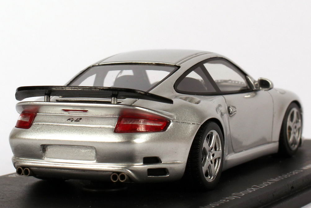Foto 1:43 Porsche 911 (997) Ruf RT 12 silber-met. Spark SPA43P006