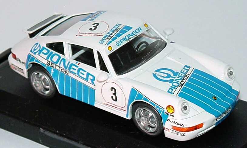 Foto 1:43 Porsche 911 Carrera 2 (Cup-Version) PCC Pioneer Nr.3, Genies Vitesse