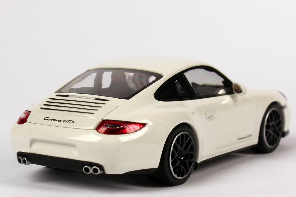 Foto 1:43 Porsche 911 Carrera GTS (997, Modell 2011) carrara-weiß Werbemodell Minichamps WAP0200200B