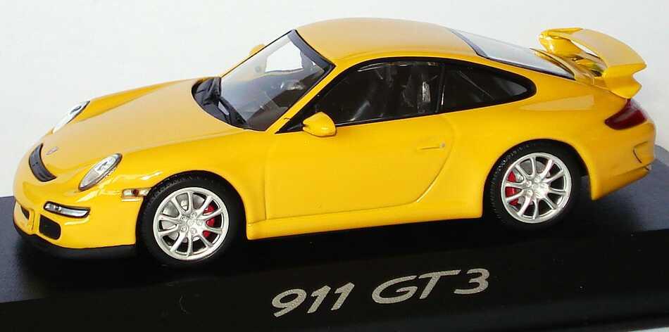 Foto 1:43 Porsche 911 GT3 (997) speedgelb Werbemodell Minichamps WAP02012116